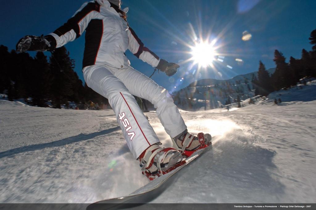 Skifahren im Val di Fiemme