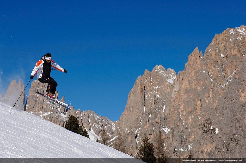 Ski im Val di Fassa
