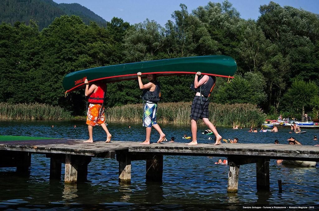 Die Valsugana mit dem Lago di Levico