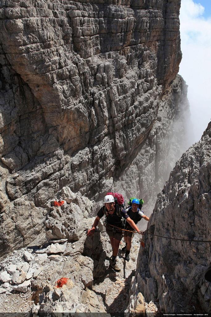Klettersteig Adamello Brenta