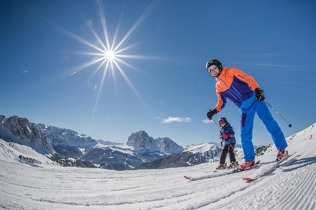 Dolomiten Skifahren